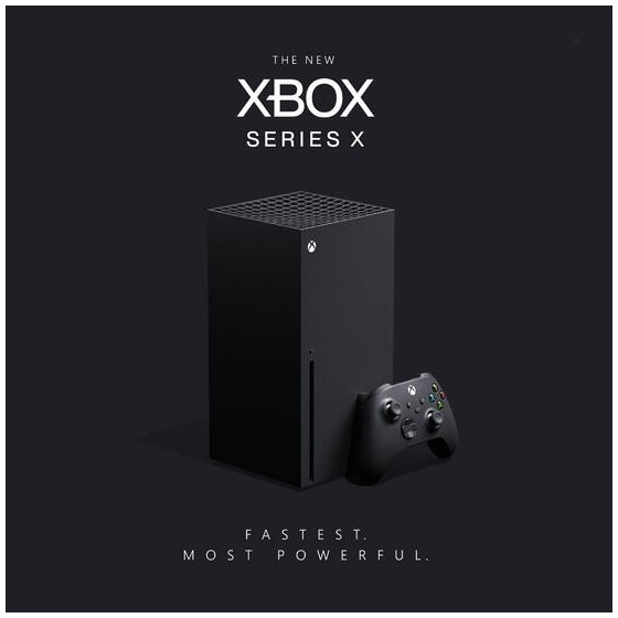 Console Xbox Series X -  Microsoft - The Gamebusters