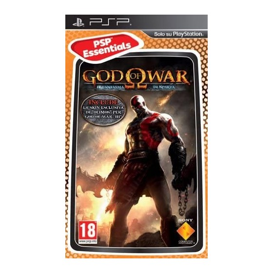 God of War Il Fantasma di Sparta - Essentials - PSP