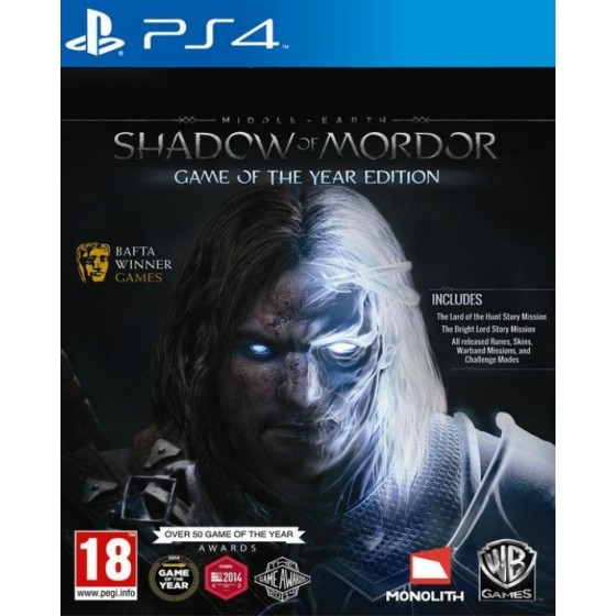 La Terra di Mezzo: L'Ombra di Mordor - GOTY - PS4