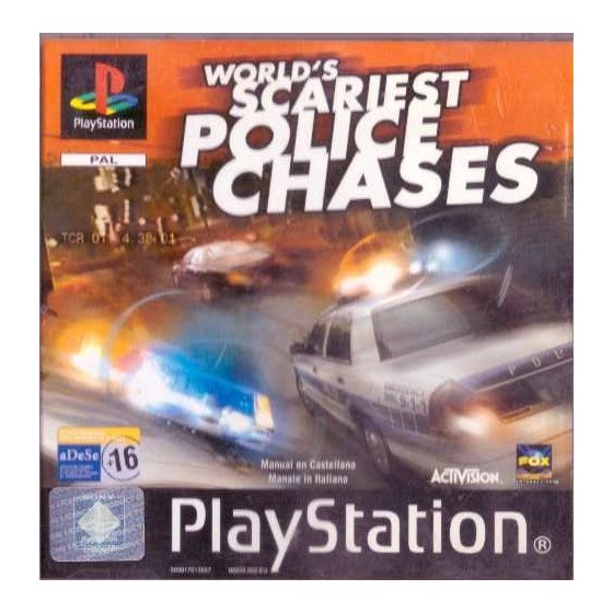 World's Scariest Police Chases - PS1
