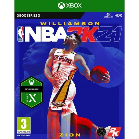 NBA 2K21 - Preorder Xbox Series X - The Gamebusters