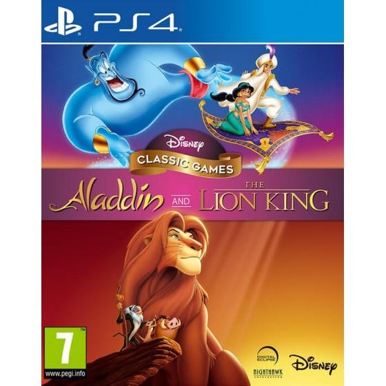 Disney Classic Games: Aladdin + Il Re Leone - PS4 - The Gamebusters