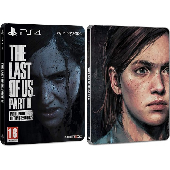 The Last of Us Part II - Steelbook Edition - PS4