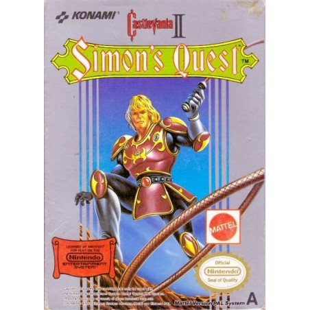 Castlevania II: Simon's Quest - NES