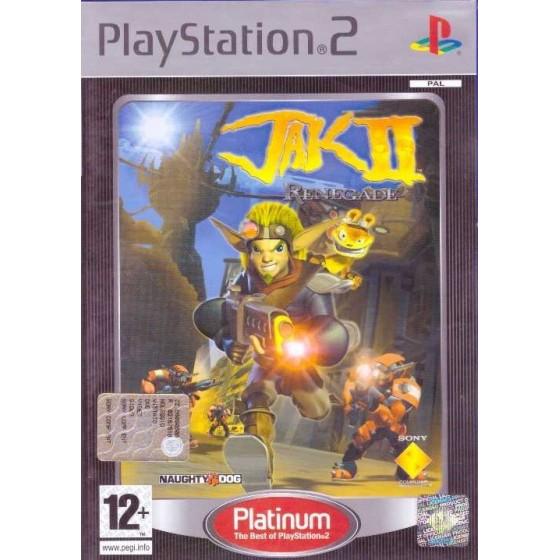 Jak II: Renegade - Platinum - PS2