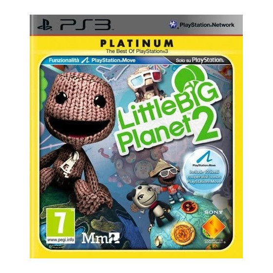 LittleBigPlanet 2 - Platinum - PS3