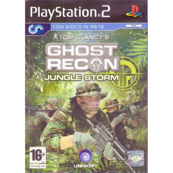 Tom Clancy's Ghost Recon: Jungle Storm - PS2