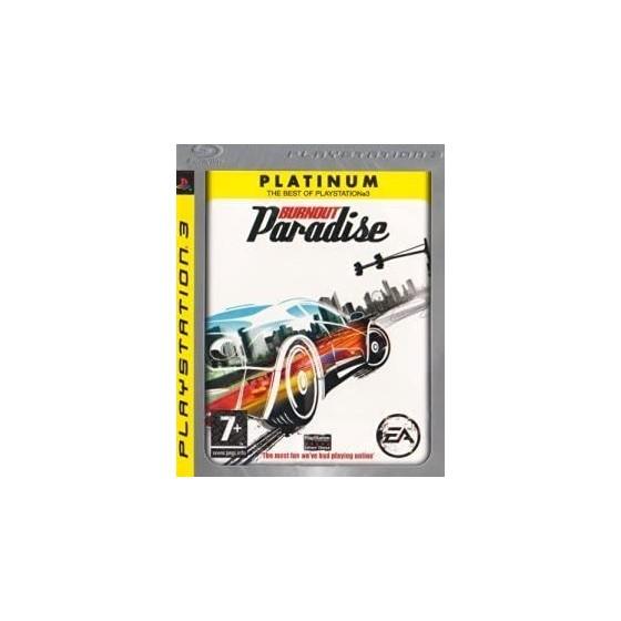 Burnout Paradise - Platinum - PS3