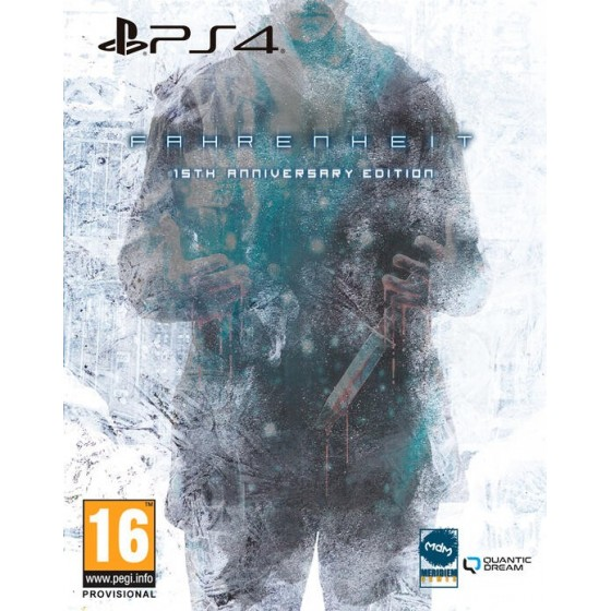 Fahrenheit - Preorder PS4 - The Gamebusters