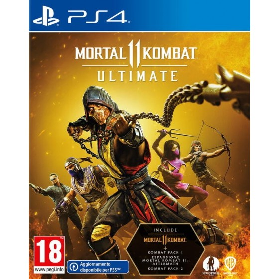Mortal Combat 11 Ultimate - Preorder PS4 - The Gamebusters