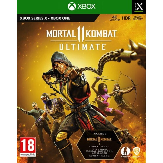 Mortal Combat 11 Ultimate - Xbox One - The Gamebusters