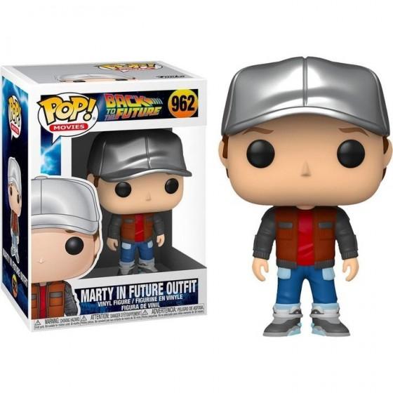 Funko Pop! - Marty in Future Outfit (962) - Ritorno al Futuro
