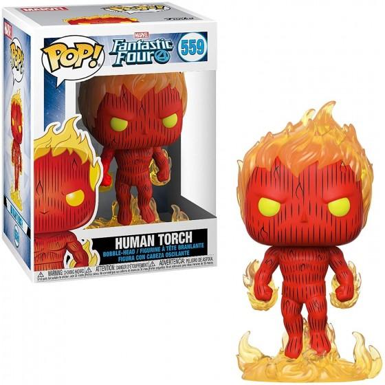 Funko Pop! - Human Torch (559) - Fantastic Four