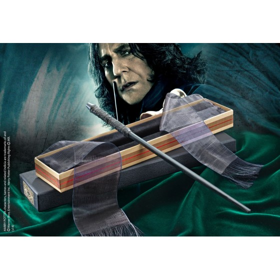 The Noble Collection Replica - Bacchetta di Severus Snape (Deluxe Edition) - Harry Potter