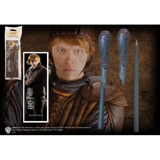 Penna & Segnalibro - Ron Weasley - Noble Collection