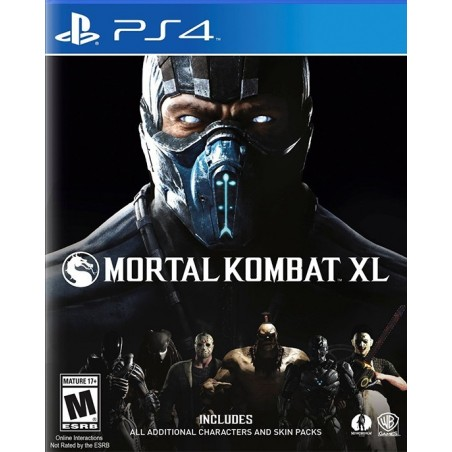 Mortal Kombat XL per ps4