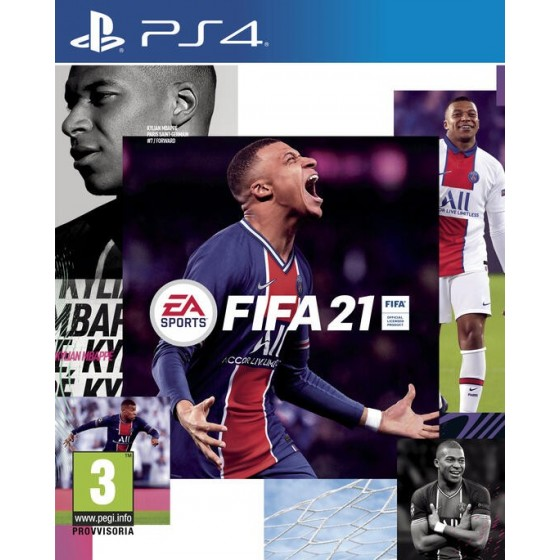 Fifa 21 - PS4 usato