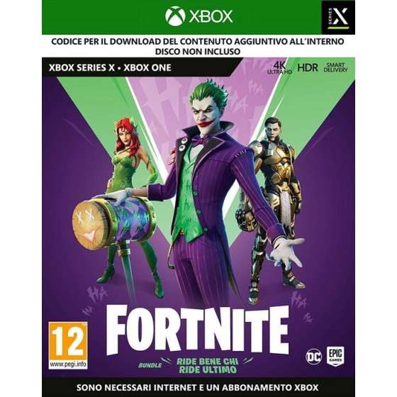 Fornite - Ride bene chi ride ultimo - Xbox One e Series X- The Gamebusters