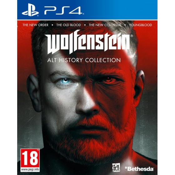 Wolfenstein Alt History Collection - PS4 - The Gamebusters