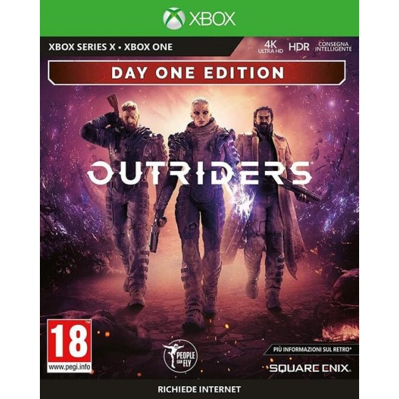 Outriders - Preorder Xbox Series X - The Gamebusters