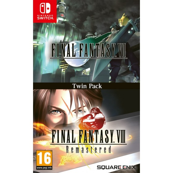 Final Fantasy VII & Final Fantasy VIII Remastered  - Switch - The Gamebusters