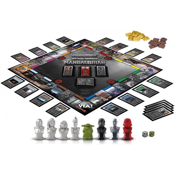 Hasbro Monopoly - The Mandalorian - Star Wars