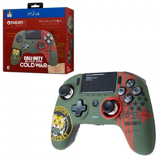 Pro Controller Nacon Revolution Unlimited - Call Of Duty Black Ops Cold War - PS4
