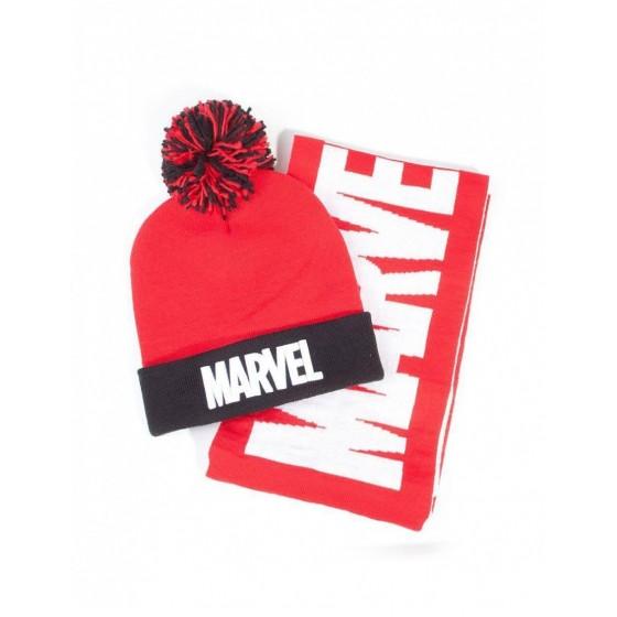 Cappello Pon Pon & Sciarpa - Marvel - Difuzed