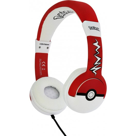 Cuffie Kids OTL Technlogies - Pokeball - Multipiattaforma