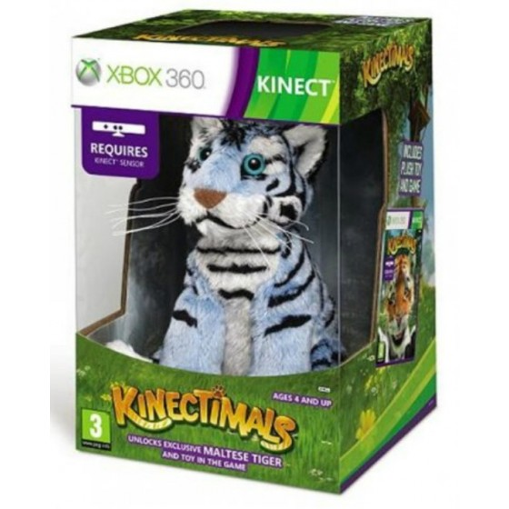 Kinectimals Limited Edition + Peluche