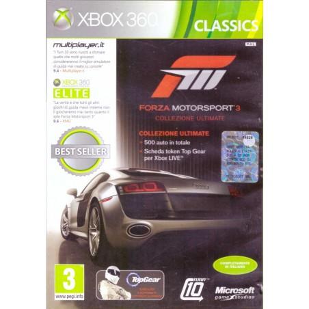 Forza Motorsport 3 - Collezione Ultimate - Xbox 360 usato