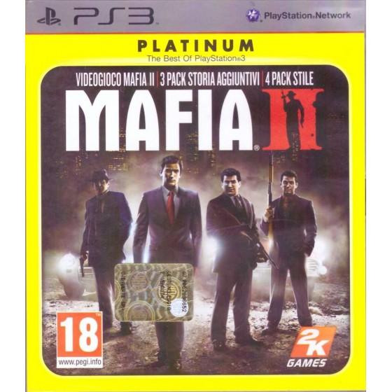 Mafia II - Platinum - PS3