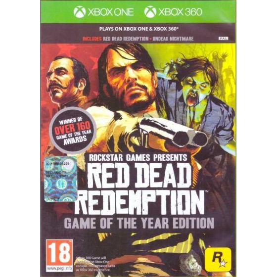 Red Dead Redemption - GOTY Edition - Xbox One/360