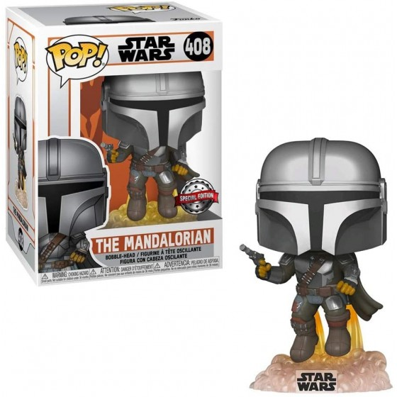 Funko Pop! - The Mandalorian With Jetpack (408) - Special Edition - Star Wars