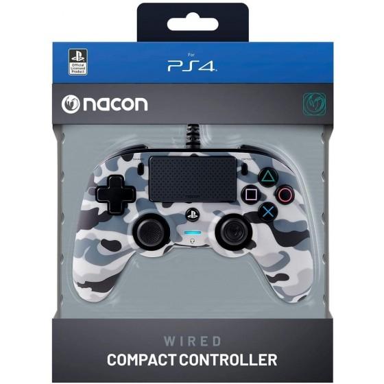 Controller Nacon Compact - Grigio Mimetico - PS4