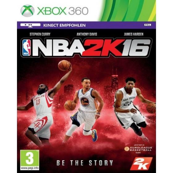 NBA 2K16 - Xbox 360 usato