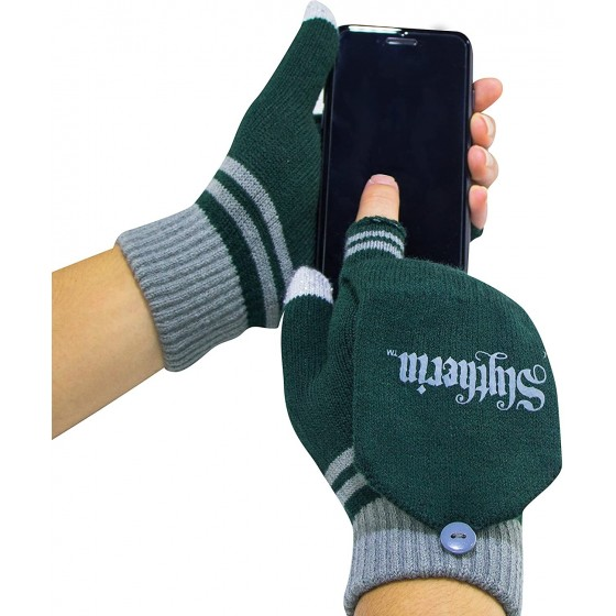 Guanti E-Touch - Serpeverde - Harry Potter - cinereplicas - The Gamebusters