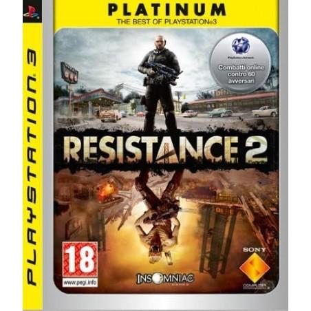 Resistance 2 - Platinum - PS3 usato