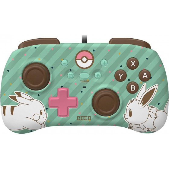 Controller Horipad Mini - Pokemon Pikachu & Eevee - Nintendo Switch