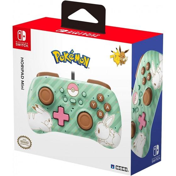 Controller Horipad Mini - Pokemon Pikachu & Eevee - Nintendo Switch - The Gamebusters