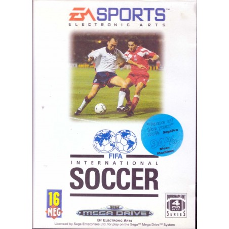 FIFA International Soccer - Mega Drive
