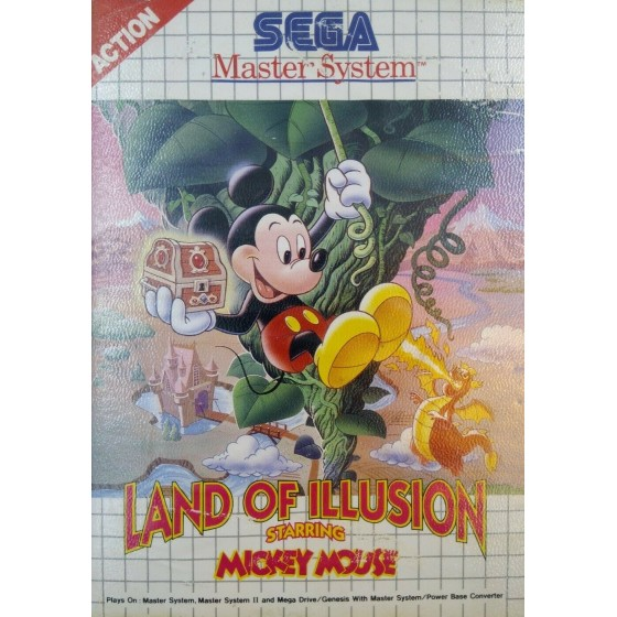 Land of Illusion Starring Mickey Mouse - Master System
