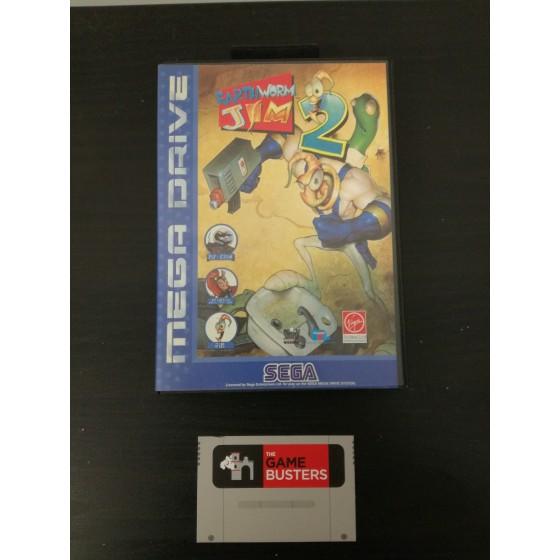Earthworm Jim 2 - Mega Drive usato