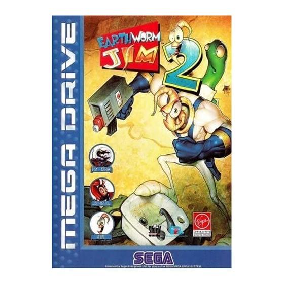 Earthworm Jim 2 - Mega Drive