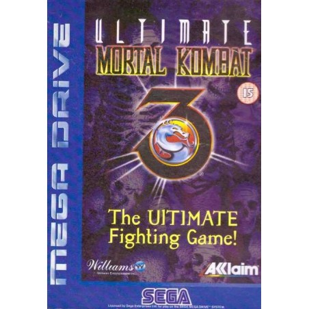 Ultimate Mortal Kombat 3 - Mega Drive