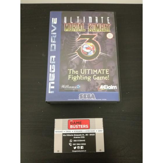 Ultimate Mortal Kombat 3 - Mega Drive usato