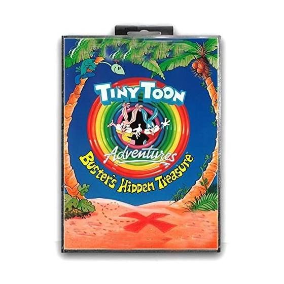 Tiny Toon Adventures Buster's Hidden Treasure - Mega Drive