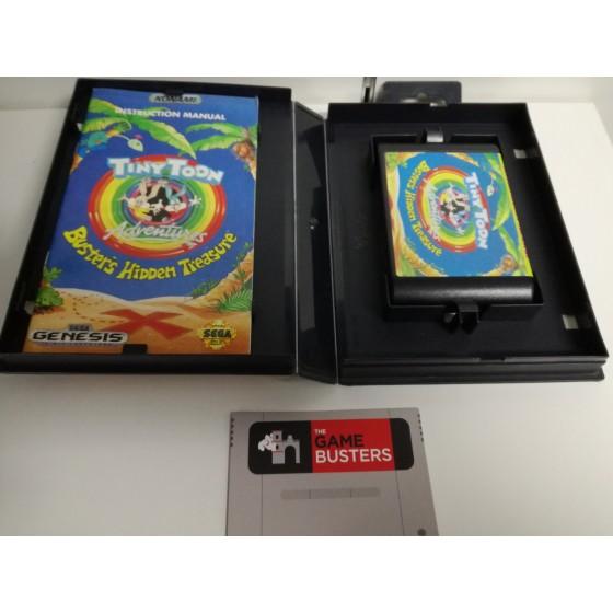 Tiny Toon Adventures Buster's Hidden Treasure - Mega Drive usato