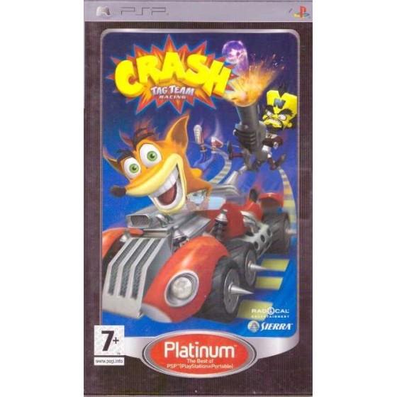Crash Tag Team Racing - Platinum - PSP