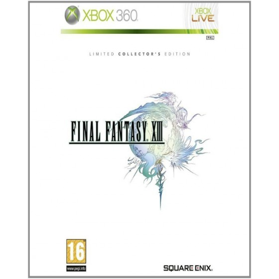 Final Fantasy XIII - Limited Collector's Edition - Xbox 360